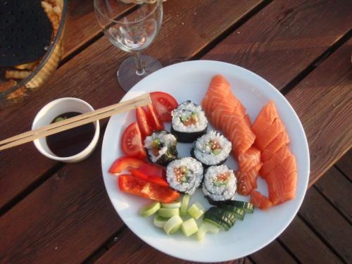 Hjemmelaget sushi