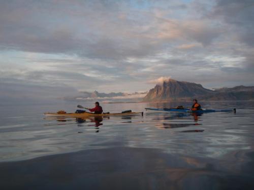 På vei nordover øts for Rødøy