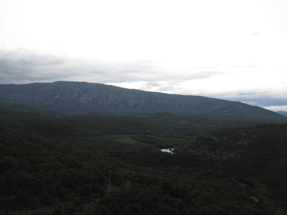 Utsikt nordover
