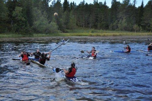 Fra finalen mellom Larvik 1 og larvik 2. Foto: John Arvid Johnsen