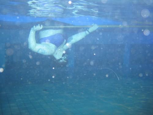 Sånn ser det ut under vann....