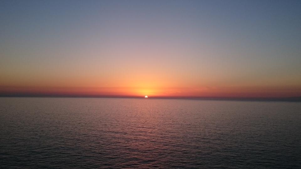 Solnedgang på Gran Canaria