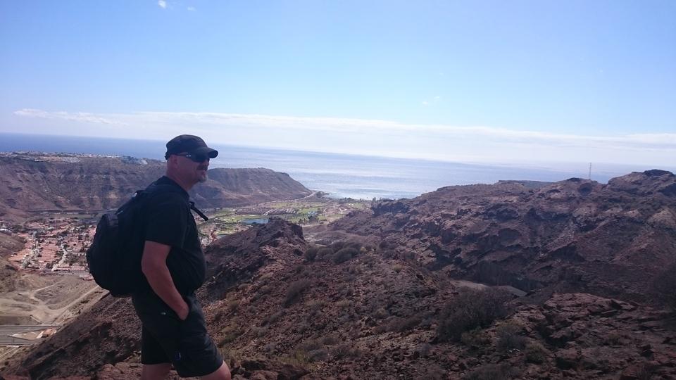 Utsikt over Tauro-dalen.